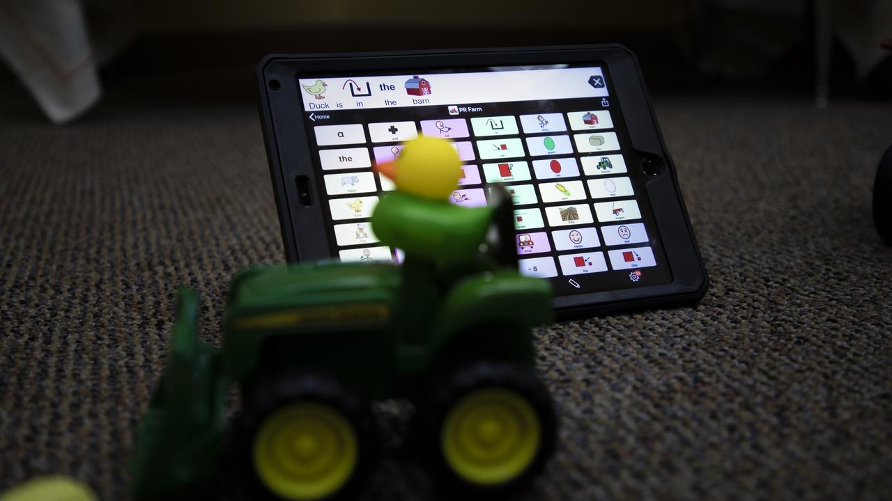 Using iPads to speak