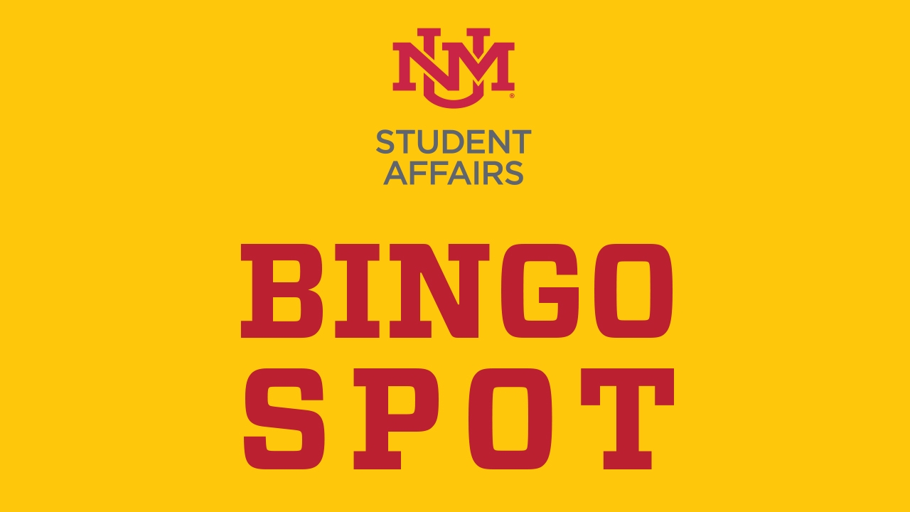 Student Affairs Bingo Spot