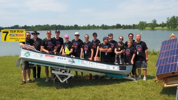 UNM's Solar Splash team shines at international competition