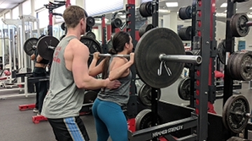 Johnson Center weight room remains open through renovations