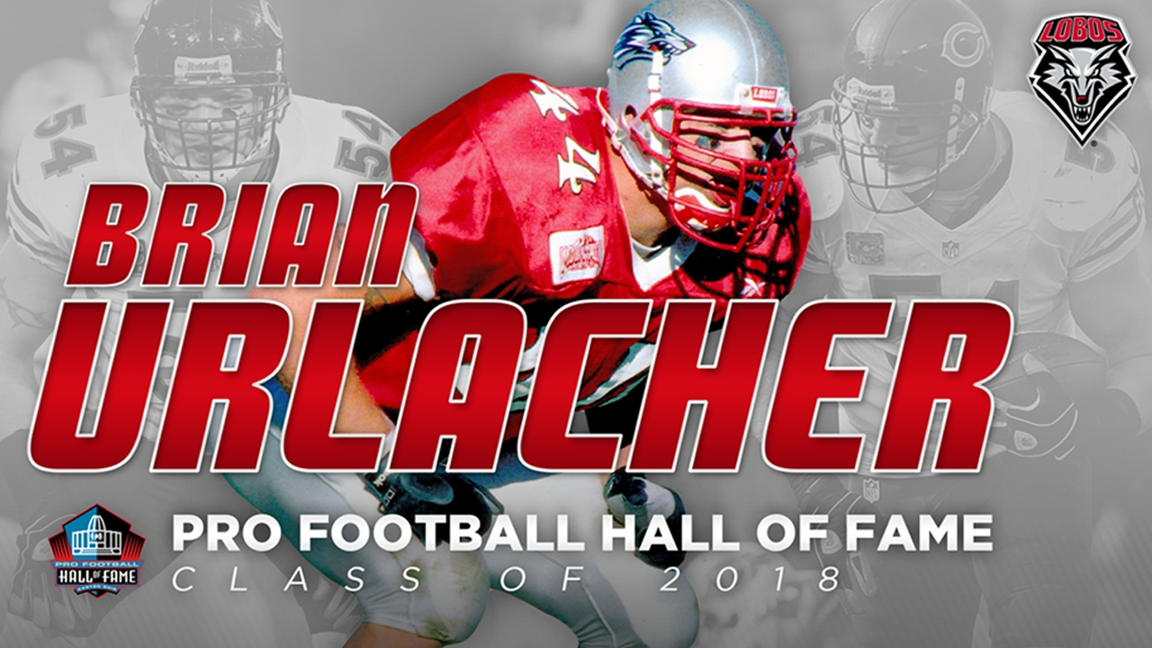 timeless design c767c 5bbbd UNM's Brian Urlacher inducted into Pro Football Hall of Fame ...