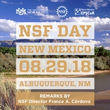 UNM hosts NSF Day New Mexico on Aug. 29