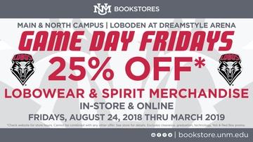 Popular UNM Bookstore promotion returns