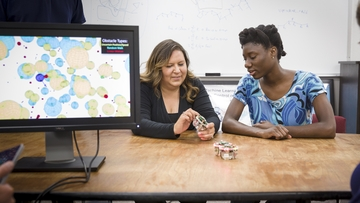 Google funds UNM program to attract female robotics students
