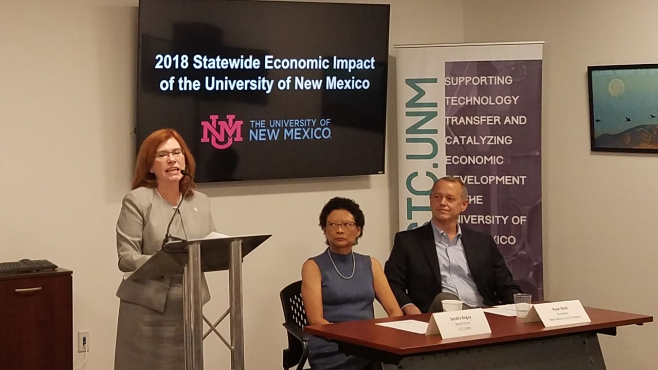 UNM President Stokes discusses economic impact