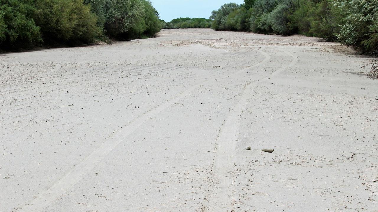 Rio Grande dry