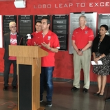 Government and community leaders announce support for Lobo Fridays