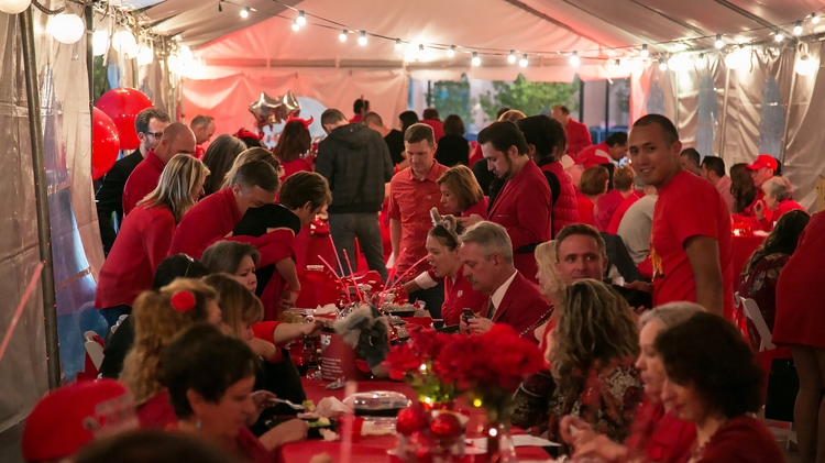 Diner en Rouge