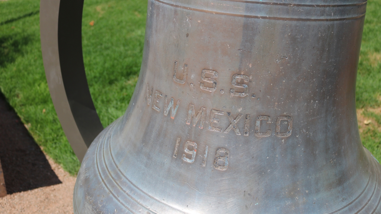 USS New Mexico bell