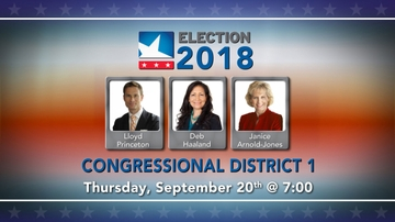 NM PBS hosts First Congressional District Candidate Forum