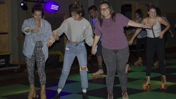 ASUNM hosts third annual Neon Skate Down