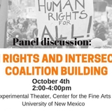 Fine Arts hosts panel discussion on Human Rights and Intersectional Coalition Building