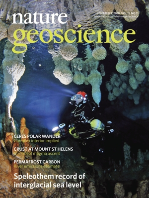 Nature Geoscience October issue