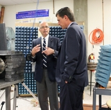 General Atomics donates to UNM electromagnetics lab