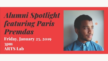 Alumni Spotlight: Paris Premdas speaks at UNM ARTS Lab