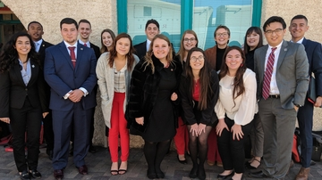 ASUNM visits Roundhouse to lobby for lottery scholarship