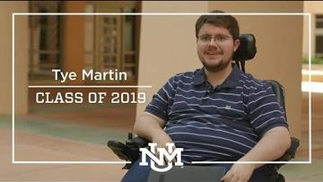 2019 Inspirational Graduates | Tye Martin