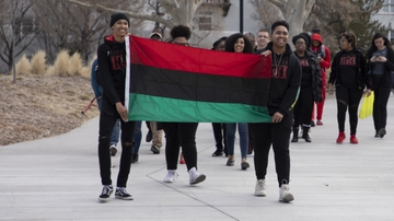 Black History Month kicks off with flag raising ceremony