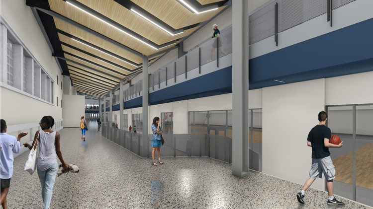 Student Rec Center render