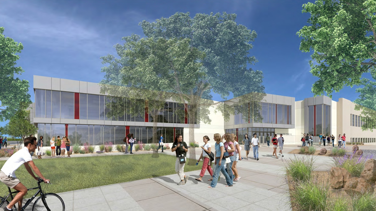 Johnson Center render