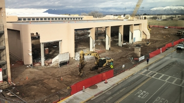 Johnson Center expansion and renovation makes significant progress