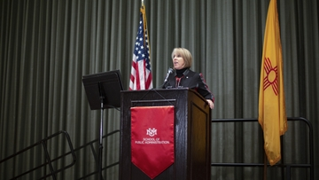 School of Public Administration hosts NM Governor