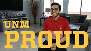 UNM Proud - Steve Mejia
