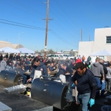 Facilities Management barbecue raises record contributions for UNM Gives