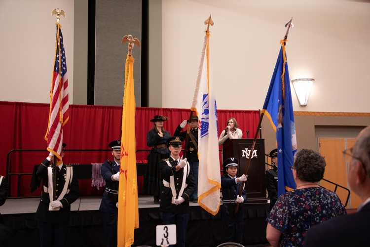 UNM Army/Air Force ROTC Color Guard