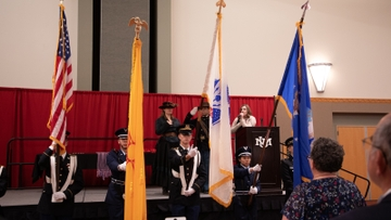 Student Veterans recognized at VMRC Graduation