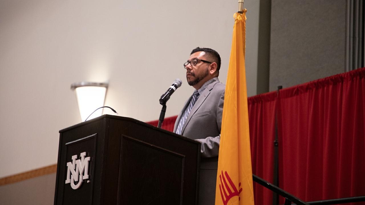 Keynote speaker Patrick Lopez
