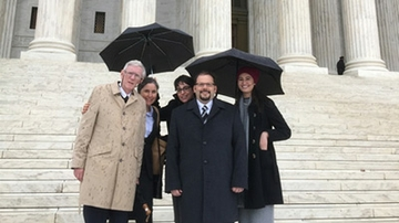 UNM School of Law students and faculty see successful end to U.S. Supreme Court Case