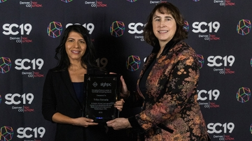UNM's Estrada honored at SC19