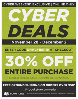 Bookstore Cyber Deals