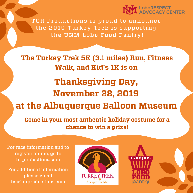 The Turkey Trek 5K Run Fitness Walk and Kid's 1K