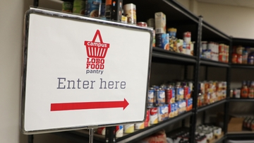 Student Affairs hosts food drive to help Lobos