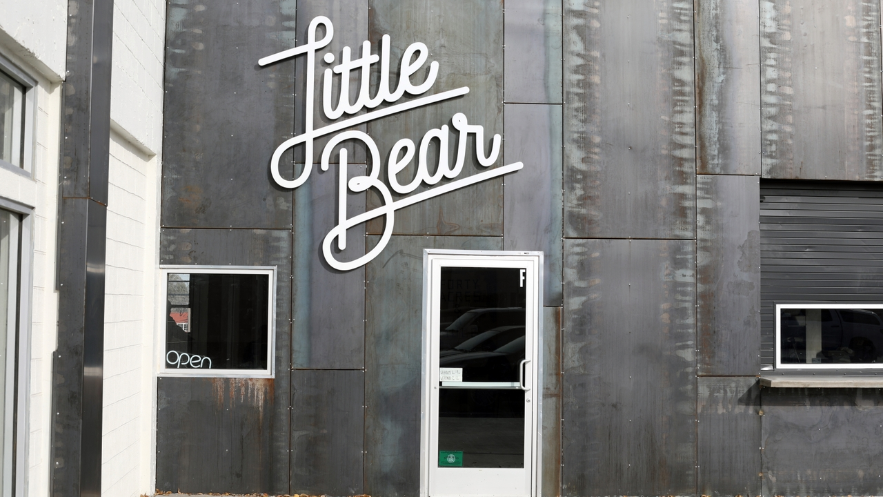 The new Little Bear Nob Hill entrance