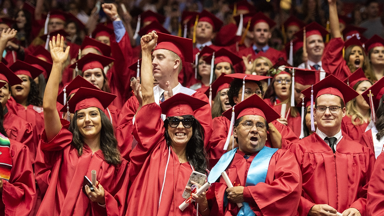 University of New Mexico hosts Fall 2019 Commencement ceremony Friday, Dec. 13