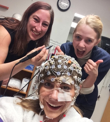 EEG is a tool that measures brain waves,