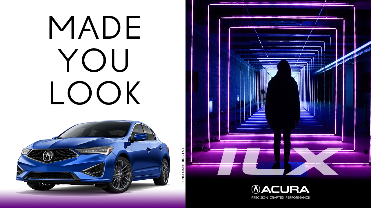 University of New Mexico marketing students launch ad campaign for 2019 Acura ILX