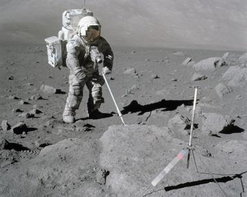 Lunar Module pilot Harrison H. Schmitt