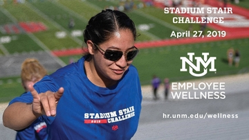 UNM's Employee Wellness hosts Stadium Stair Challenge
