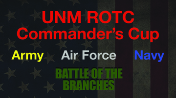 UNM ROTC Units bring back Commander's Cup