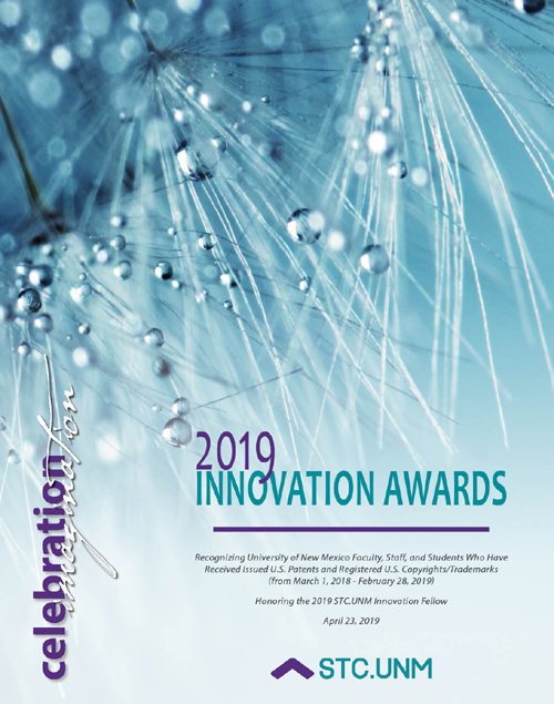 2019 STC.UNM Innovation Awards dinner to honor University of New Mexico inventors and STC Innovation Fellow