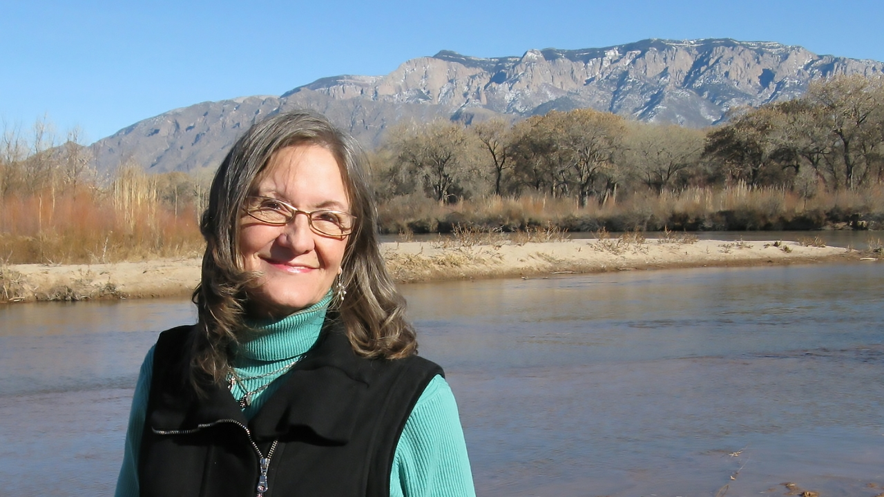 Basia Irland at the Rio Grande