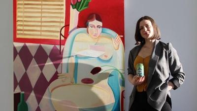 Artist Danielle Orchard