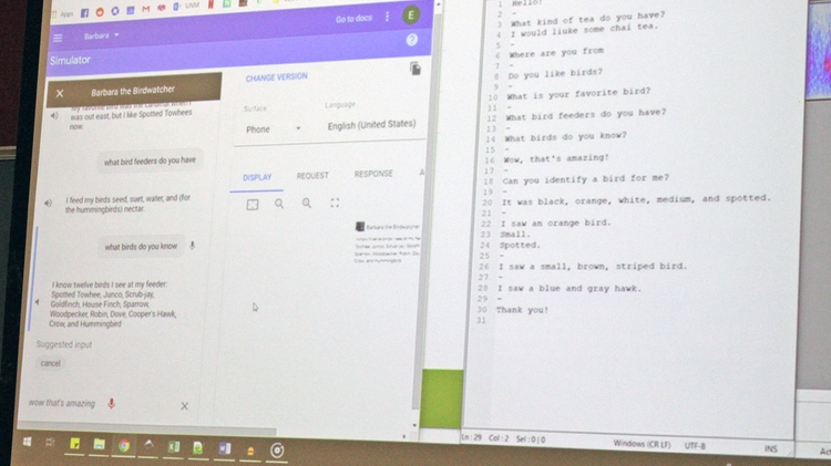 Chatbot course teaches students practical skills in artificial intelligence