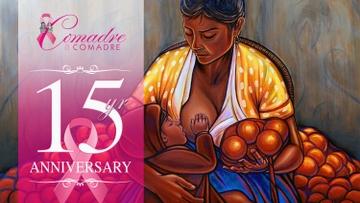 "Raffle for original Simón Silva artwork titled ""Amor"" to benefit Comadre a Comadre"