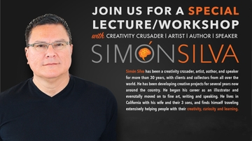 Artist, author and speaker Simon Silva brings 'Cultivating the Creative Mind' workshops to UNM