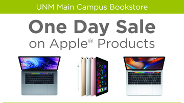 One-day Apple® sales event at UNM Bookstore